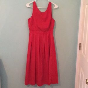 Dresses & Skirts - Red tea length dress